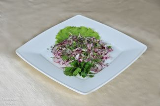 Sweet onion salad